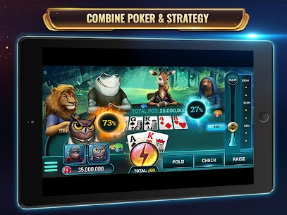 Wild Poker: Texas Holdem Poker Game with Power-Ups 8