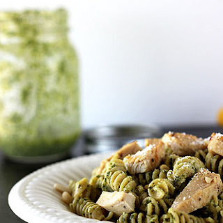 Lemon Pesto Pasta with Chicken