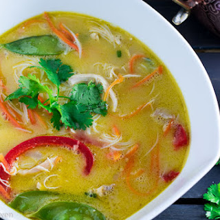 Spicy Thai Chicken Noodle Soup Recipe