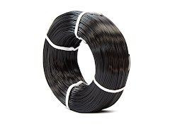 Black KVP Master Spool PLA Filament Koil - 1.75mm (1kg)
