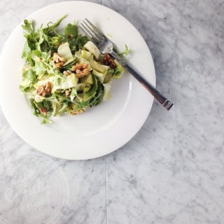 Healthy Nutritious Arugula And Endives Green Salad