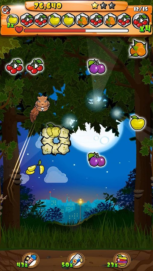 Wild Furballs: Throw- screenshot