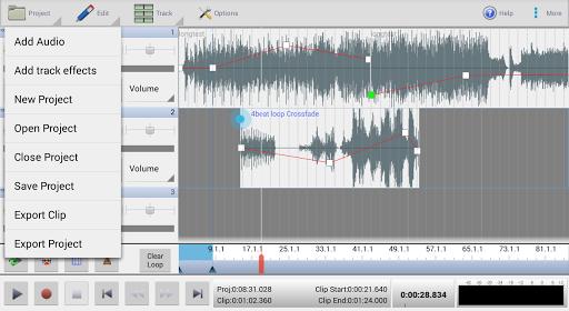 MixPad Multitrack Mixer Free screenshot 5