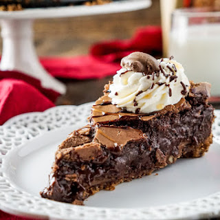 Gooey TURTLES Brownie Pie