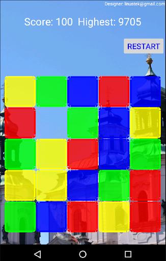 Swipe Color Block