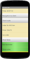 Screenshot of taxi-taximeter