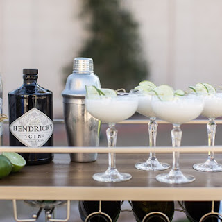 Coconut Lime Gin Fizz.
