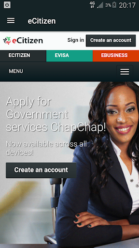 eCitizenKe - Kenyan  Government to Citizen Service 1.17 androidtablet.us 2