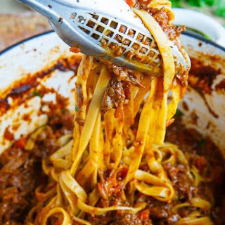 Wonderfully Braised Beef Short Rib Bolognese