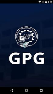 gpg student app - náhled