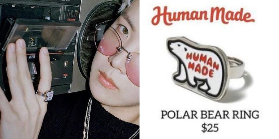 polar bear ring collage