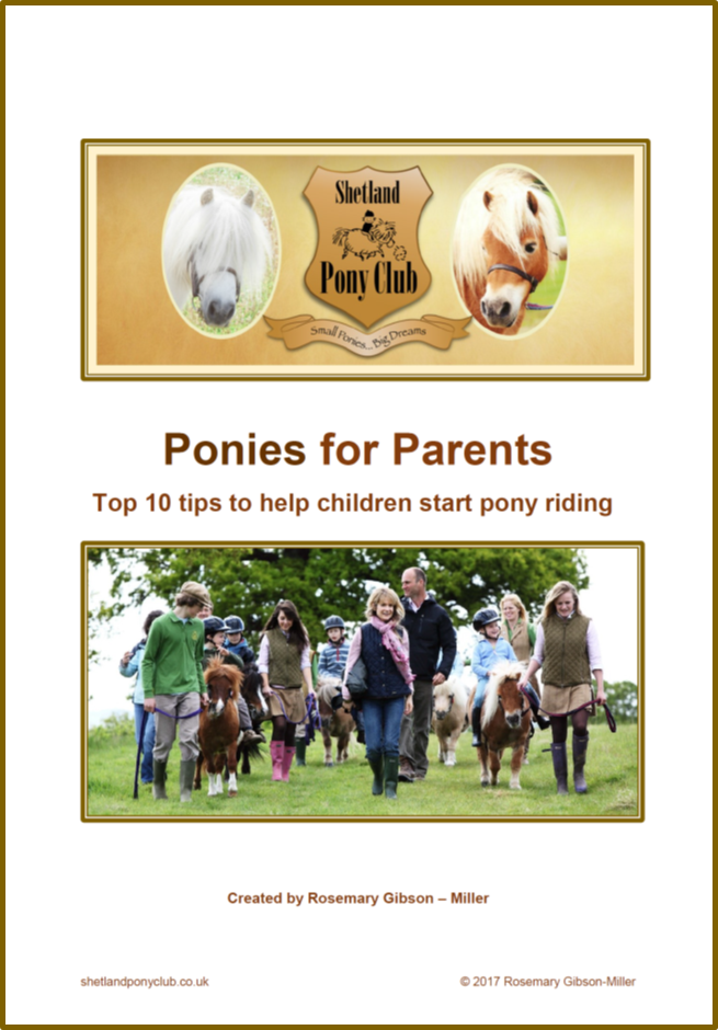 Ponies for Parents - Free Guide