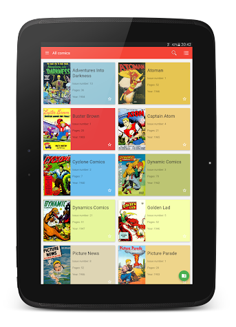 Material Comic Viewer Pro Screenshot