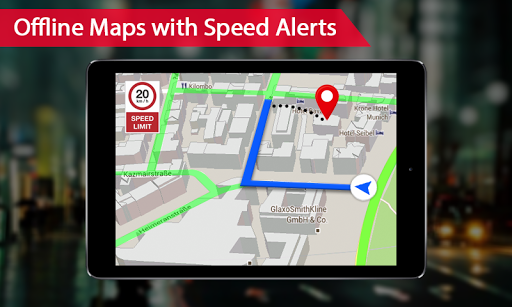 Offline maps with Street View : GPS Route Tracker 1.0.15 screenshots 2