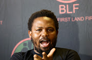 Andile Mngxitama is fuming after the state capture inquiry notified him that he has been implicated for alleged corruption, fraud and money laundering. File photo.