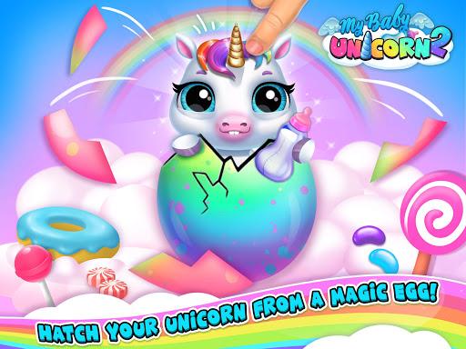 My Baby Unicorn 2 - New Virtual Pony Pet apkdebit screenshots 13