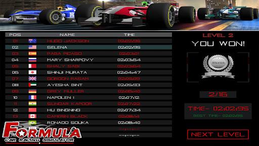 Télécharger Formula Car Racing Simulator mobile No 1 Race game apk mod screenshots 4