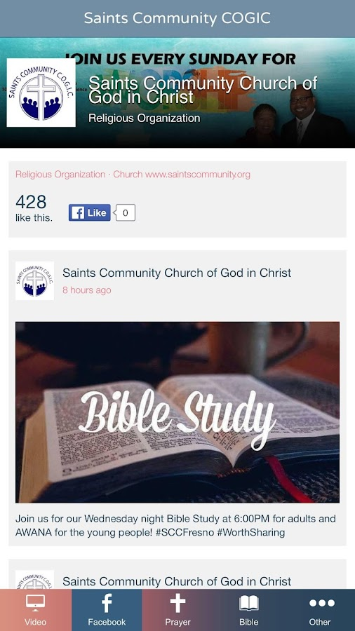 Saints Community Church Fresno- screenshot