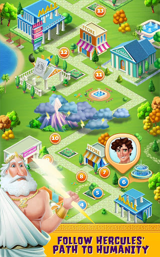 Hercules Falls in Love - Gods & Girls School Crush for PC