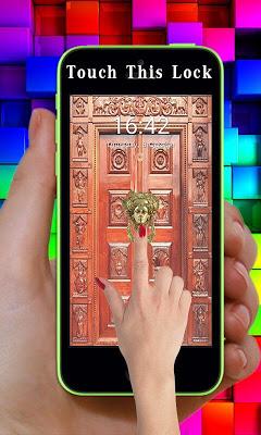 Sai Baba Door Lock Screen - screenshot