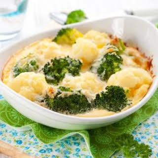 Cauliflower And Broccoli Cheese.