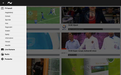 Moja webTV  screenshots 10