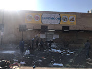 Several foreign owned shops have been looted in Tembisa over night.