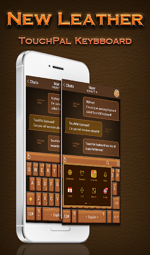 New Leather Keyboard Theme