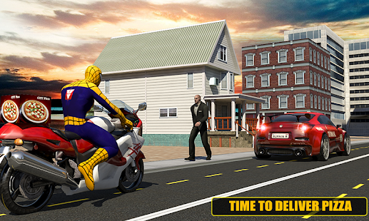 Super Spider Pizza delivery- screenshot thumbnail