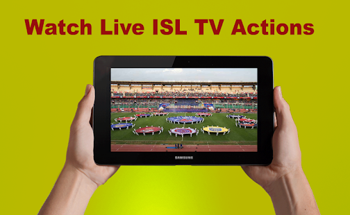 HD sports TV-Live ISL Football TV &Cricket Advice - náhled