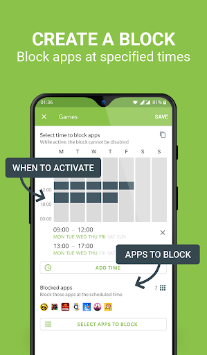 Block Apps - Productivity & Digital Wellbeing 2.5.1 screenshots 2