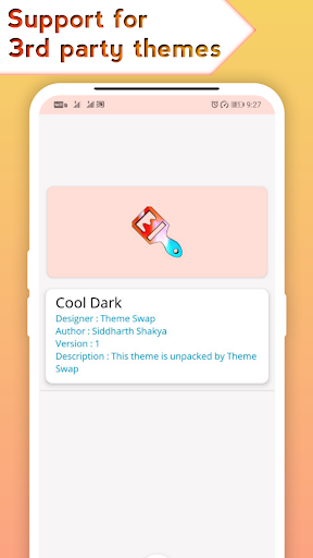 Theme Swap (My Themer) - HD Wallpapers, Dark Mode 2.8.9 screenshots 1