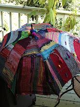 Photo: peaceful weaving and peace through fibers jill nickolene sanders www.etsy.com/shop/saorisantacruz