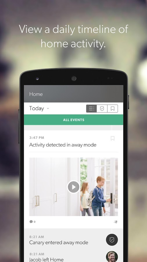 Canary – Smart Home Security- screenshot