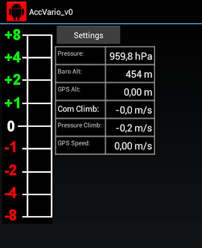 Acceleration aided Variometer 1.6 screenshots 2