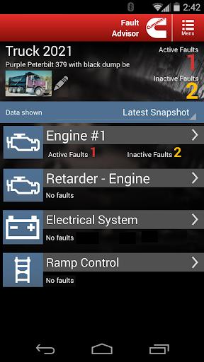 Cummins Fault Code Advisor 1.1.2.5 screenshots 1