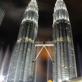Petronas Twin Tower by Mohd Norsabree Sailan - Buildings & Architecture Architectural Detail ( amatuer, klcc, sabree, petronas, pwcdetails, malaysia, twin tower, kuala lumpur, landmark, travel )