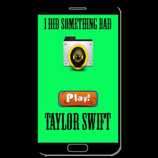 I Did Something Bad - Taylor Swift - náhled