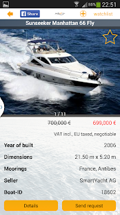 Yachtall.com - boats for sale- screenshot thumbnail