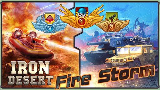 Iron Desert - Fire Storm screenshot 1