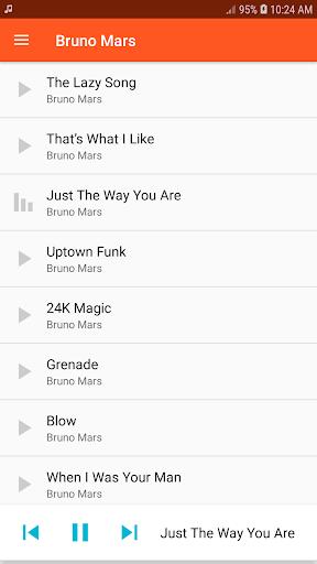 bruno mars songs offline music (all songs) screenshot 3