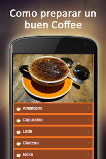 Como Preparar un Buen Coffee Screenshot
