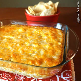 Hot Cheesy Mexican Corn Dip.