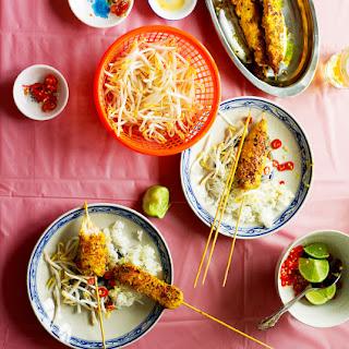 Chicken Satay (sach Mouen Chang Kak)