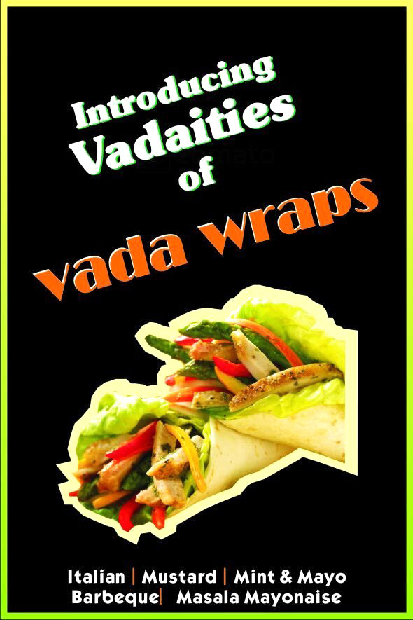 Just Vada Pav menu 1