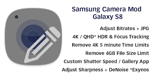 Camera Mod S8 - Bitrate & Settings [ROOT] - Apps on Google Play
