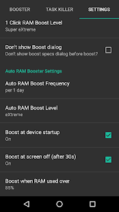 RAM Booster eXtreme Speed Pro Screenshot