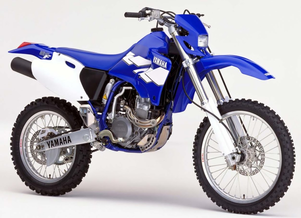 Yamaha WR 400 F-manual-taller-despiece-mecanica