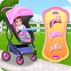 Create Your Baby Stroller icon