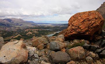 Photo: Vue du sentier de Lago de Los Tres à El Chalten.